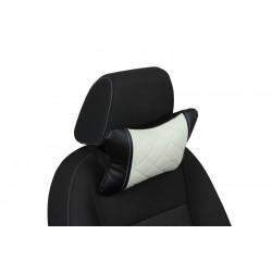 Подушка из Экокожи Ромб автомобильная под шею в Волгограде